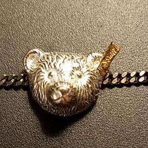 "Sterling Vintage Steiff Bracelet 7.25"""